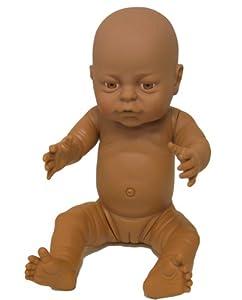 Dolls World Anatomically Correct Bathable Black New Born ...