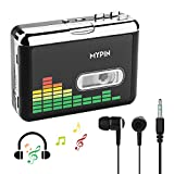USB Cassette to MP3 Converter, Portable Cassette Audio Music Player Tape-to-MP3 Converter with Earphones, No PC Compatible