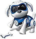 Bix Robot Toy Dog, Electronic Pet Dog Interactive Puppy Respond To Touch, Walking ,Talking ,Sing , Present For Kids/Boys/Girls