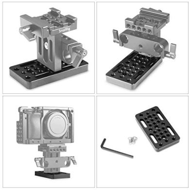 SMALLRIG-Switching-Plate-Camera-Easy-Plate-for-Railblocks-Dovetails-and-Short-Rods-Longer-Version-1598