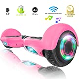 XPRIT Easter Sale Hoverboard w/Bluetooth Speaker (Pink)
