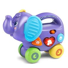 VTech Push & Explore Elephant, Purple