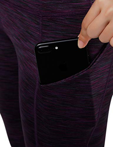 ODODOS High Waist Out Pocket Yoga Short Tummy Control Workout Running Athletic Non See-Through Yoga Shorts 18 Fashion Online Shop gifts for her gifts for him womens full figure