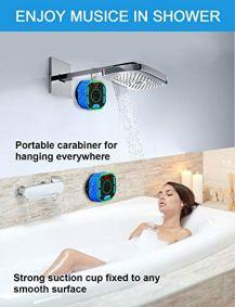 BassPal-Enceinte-Bluetooth-Portable-de-Douche-Haut-Parleur-Etanche-IPX7-avec-son-Puissant-Ecran-LED-Mousqueton-Spectacle-de-Lumiere-TWS-Bluetooth-Speaker-pour-Plage-Piscine-Maison-Fete