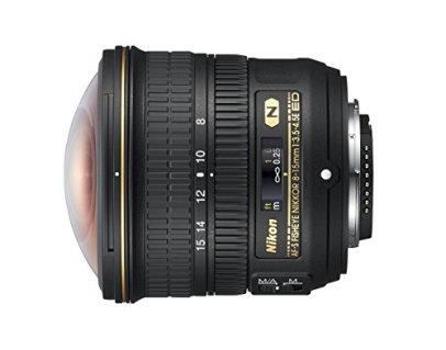 Nikon-AF-S-FISHEYE-NIKKOR-8-15mm-f35-45E-ED-F45-29-Fixed-Zoom-Camera-Lens-Black