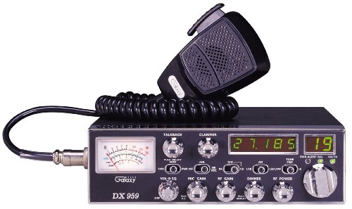 Galaxy-DX-959  40 Channel AM/SSB Mobile CB Radio with Frequency Counter