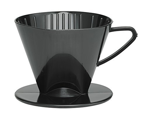 HIC Harold Import Co. 2662 coffee filter cone, No.2, Black