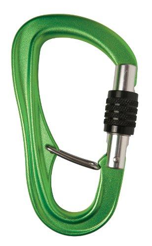 Metolius Gatekeeper Belay Biner Green One Size