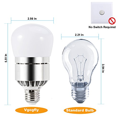 Sensor lights bulb dusk to dawn led light bulbs smart lighting lamp sensor lights bulb dusk to dawn led light bulbs smart lighting lamp 7w e26e27 automatic onoff indoor outdoor yard porch patio garage garden velocity aloadofball