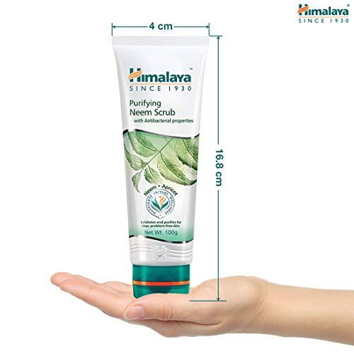 41ZW CSZ7JL Himalaya Herbals Purifying Neem Scrub, 100gm