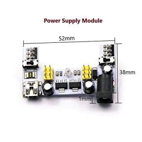 CenryKay-Starter-Kit-Element-Parts-DIY-Kit-830-MB-102-Tie-Points-Solderless-Breadboard140-PCS-Jumper-Cable33V-5V-Power-Supply-Module-Compatible-for-Arduino