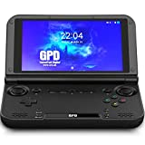 LANRUO GPD XD Plus [2019 HW Update]-Support Google Service-5' Touchscreen Foldable Handheld Video Game Console Android 7.0 Portable Gaming Console MT8176 Hexa-core CPU,PowerVR GX6250 GPU,4GB/32GB