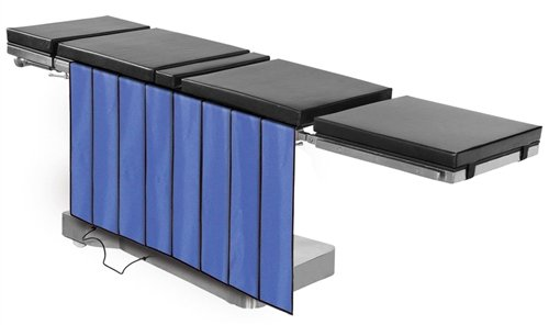 """X-Ray Shields - Main Table Drape Panel Barrier, 0.5mm Protection, 4-Panels, 24""""W x 30""""H, Regular Lead"""