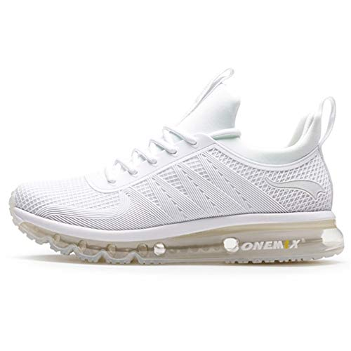 Man Running Shoes 45 Sneakers for Men Comfortable Sport Shoes Men Trend Lightweight Walking Shoes Breathable Zapatillas White