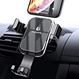 Gravity Car Phone Mount FLOVEME Cell Phone Holder for Car Hands Free Auto Lock Air Vent Car Phone Holder Compatible iPhone XS MAX X XR 8 7 6 Plus Samsung S10 S10E S9 S8 Plus S7 Edge Note 8 9 LG Google