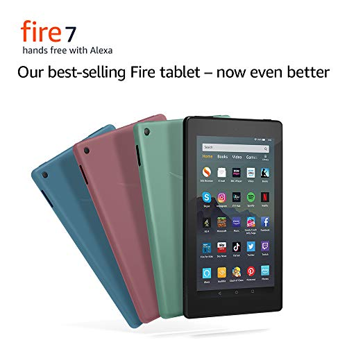 "41ZjDnqULmL - Fire 7 Tablet | 7"" display, 16 GB, Plum with Special Offers"