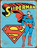 Superman Tin Sign 12 x 16in