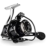KastKing Megatron Spinning Reel, Great Saltwater Spinning Fishing Reel, Rigid Aluminum Frame 7+1 Double-Shielded Stainless-Steel BB, Over 30 lbs. Carbon Drag, CNC Aluminum Spool & Handle