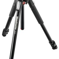 Manfrotto 055 Aluminum 3-Section Tripod Kit with Horizontal Column and 3-Way Head (MK055XPRO3-3W)