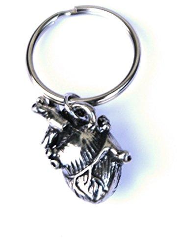 Anatomical Heart Key Chain