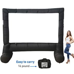 EasyGo-Products-14-Inflatable-Mega-Movie-Screen-Canvas-Projection-Screen-for-Outdoor-Parties-Movie-Cinema-is-Guaranteed-to-Thrill-and-Excite-Includes-Inflation-fan-Tie-Downs-and-Storage-bag