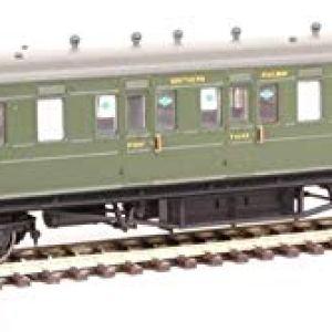 Hornby R4719A SR 58′ Maunsell Rebuilt (Ex-LSWR 48) Six Compartment Lavatory Brake Composite Class Coach'6401′, Multi 41a M2obq3L