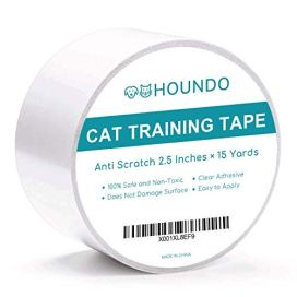Houndo-Anti-Scratch-Cat-Training-Tape-Prevent-and-Stop-Cats-from-Scratching-Furniture-Couch-Chair-Sofa-Rug-and-Door-Cat-Scratch-Deterrent-Clear-Cat-Tape-Stops-Cat-Scratching-Fast