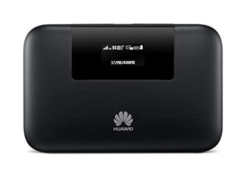 Router Hotspot Huawei E5770s-320 150 Mbps 4G LTE Mobile WiFi (4G LTE AT&T - Europe Asia Middle East Africa Latin & 3G globally) 20 Hours Work (Black)