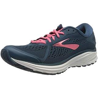 Brooks Women's Aduro 6 Running Shoes, Majolica/Pink/White, 4.5 UK (37.5 EU) Road Running Shoes Best