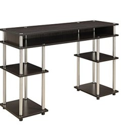 Convenience Concepts Designs2Go No Tools Student Desk, Espresso