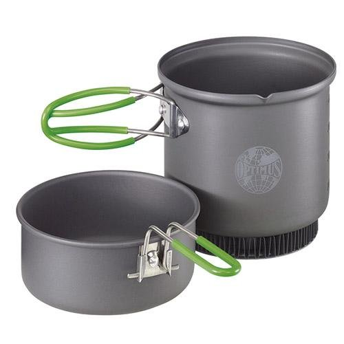 Optimus Terra Weekend HE Non Stick 0.95 L Cook Set with Heat Exchanger & Cleaning Sponge