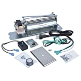 Durablow MFB003-A GZ550 Replacement Fireplace Blower Fan Kit for Continental, Napoleon, Rotom HB-RB58