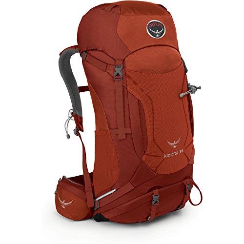 Osprey Packs Kestrel 38 Backpack, Dragon Red, Medium/Large