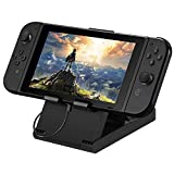Oneme Stand for Nintendo Switch Compact Foldable Multi Angle Holder Play Stand Compatible with Nintendo Switch IPad iPhone Samsung Galaxy Tab Android Phones Tablets E-Reader