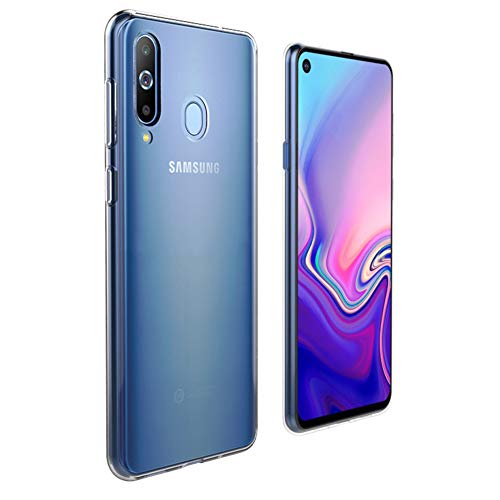 Prime Retail Back Case Cover for Samsung Galaxy M40 [Protective + Anti Shockproof CASE], Samsung Galaxy M40 Back Cover Case -Prime Retail Transparent Case 4