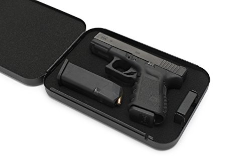 AdirOffice Portable Travel Gun Safe - Pistol Lock...
