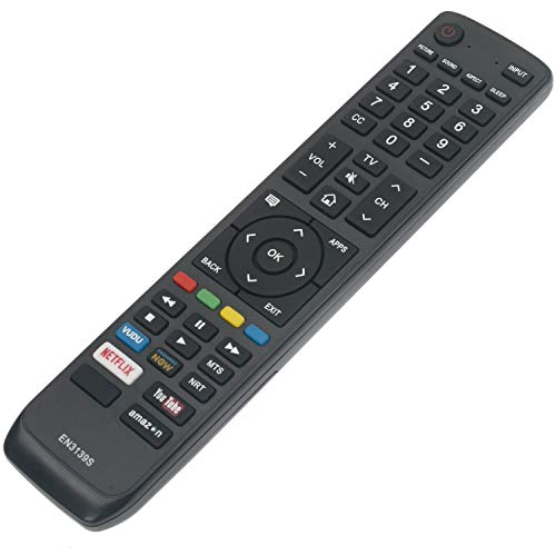 New EN3139S Replacement Remote Control fit for Sharp Smart LED TV HDTV LC-43N7002U LC-43P7000U LC-43Q7000U LC-50N7002U LC-50N8002U LC-50P7000U LC-55P6000U LC-55P6050U LC-65N8002U LC-65P6000U