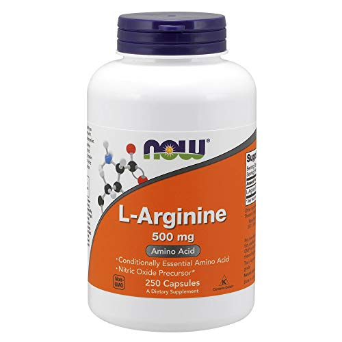 NOW Supplements, L-Arginine 500 mg, Amino Acid, 250 Capsules