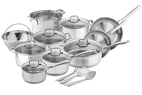 Chefs-Star-Professional-Grade-Stainless-Steel-17-Piece-Pots-Pans-Set-Induction-Ready-Cookware-Set-with-Impact-bonded-Technology