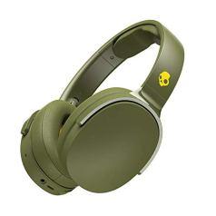 Skullcandy Hesh3 Wireless Over-Ear Headphone with Mic (Moss/Olive/Yellow)