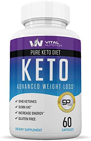 Pure Keto Diet Pills - Ketosis Supplement to Burn Fat Fast - Ketogenic Carb Blocker - Best Keto Diet Pills for Women and Men - Helps Boost Energy & Metabolism - 60 Capsules 3