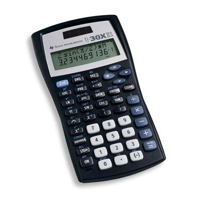 Texas Instruments TI-30X IIS Solar Scientific Calculator
