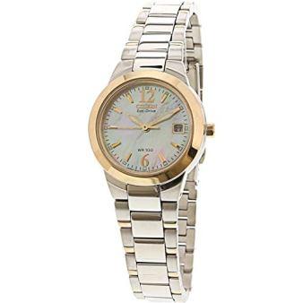Citizen Women's Eco-Drive EW1676-52D Silver Stainless-Steel Fashion Watch