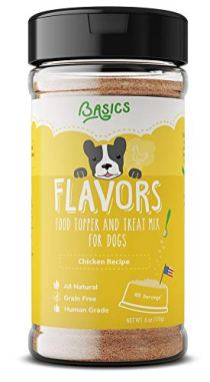 Flavors-Food-Topper-and-Gravy-for-Dogs-Chicken-Recipe-with-Bone-Broth-Natural-Human-Grade-Grain-Free-Perfect-Seasoning-and-Hydrating-Treat-Mix-for-Picky-Dog-or-Puppy-Chicken-6-oz