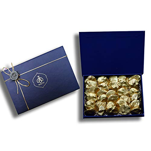 Queen-Bee-45-Dark-Chocolate-Almond-Rock-Gift-Box-30-pcs-360gm-Diwali-Gift-Pack