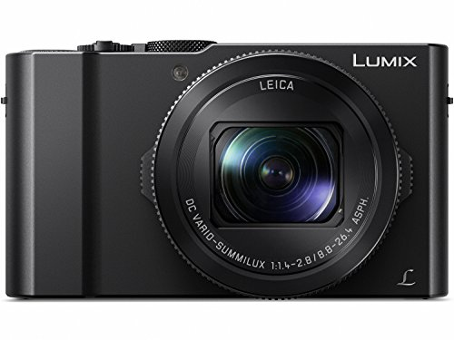 Panasonic LUMIX DMC-LX10K Camera, 20.1 Megapixel 1″ Sensor, 3X 24-72mm F/1.4-2.8 LEICA DC Lens