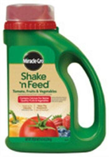 Miracle GRO 3002610 4.5 Lb Shake 'n Feed Tomato, Fruits & Vegetables 9-4-12