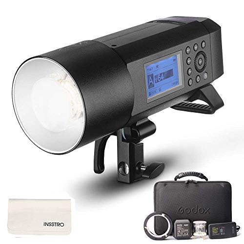 Godox-AD400Pro-All-in-One-Outdoor-Flash-Strobe-400W-24G-TTL-Portable-Speedlite-with-Battery-and-ACDC-Powered-with-Bowens-Mount-and-Godox-Mount