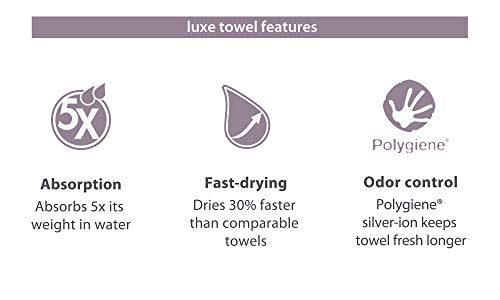 PackTowl-Luxe-Quick-Dry-Microfiber-Towel-for-Beach-and-Travel-Zesty-Lichen-Hand