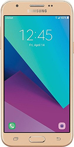 """UNLOCKED GSM Phone Cricket Wireless Samsung Galaxy Sol 2 5"""" Touch Screen 4G with 16GB Memory Prepaid Cell Phone GOLD"""